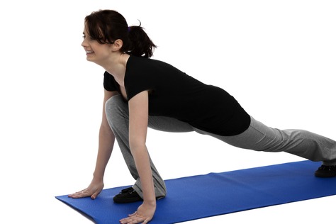 Online-Pilates zu Hause