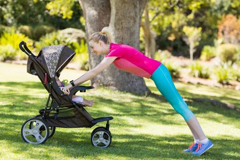 Muskelaufbau für Frauen nach der Schwangerschaft