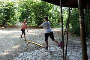 Personal Training im Schlosspark